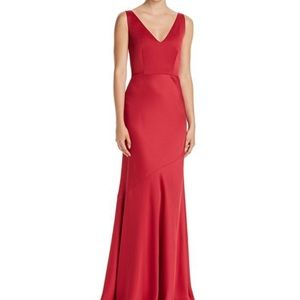 Rachel Zoe red formal gown